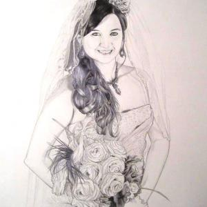 Artwork:  Bridal Portrait